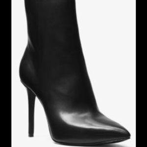 Michael Kors Leona Leather Booties